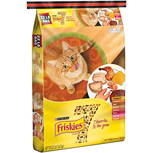 Purina Friskies 7 Cat Food 22 lb. Bag (1) by Purina Friskies