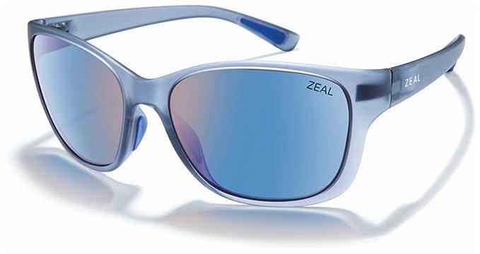 df3af44d54b Zeal Optics Unisex Magnolia Matte Smoke W Polarized Horizon Blue Lens One  Size