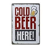 20x30cm Vintage Metal Tin Sign Plaque Wall Art Poster Cafe Bar Pub Beer #6