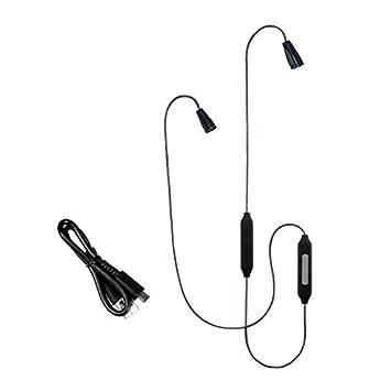Tiandirenhe Upgrade APT-X inalámbrica Bluetooth Cable para Sennheiser IE80 IE8I IE8 CSR8635 Chip con