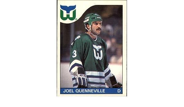 7f62733d9 Amazon.com  1985 Topps Hockey Card (1985-86)  103 Joel Quenneville Near  Mint Mint  Collectibles   Fine Art