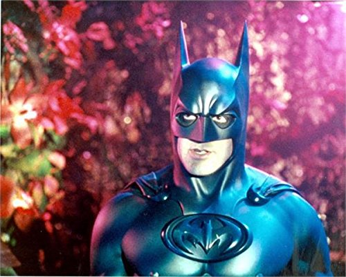 Autograph-Warehouse-82748-George-Clooney-8-x-10-Photo-Batman-Image-No-1