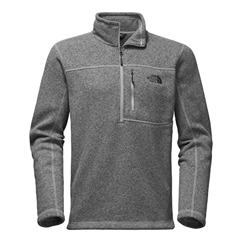 The North Face Men's Gordon Lyons 1/4 Zip TNF Medium Grey Heather Large