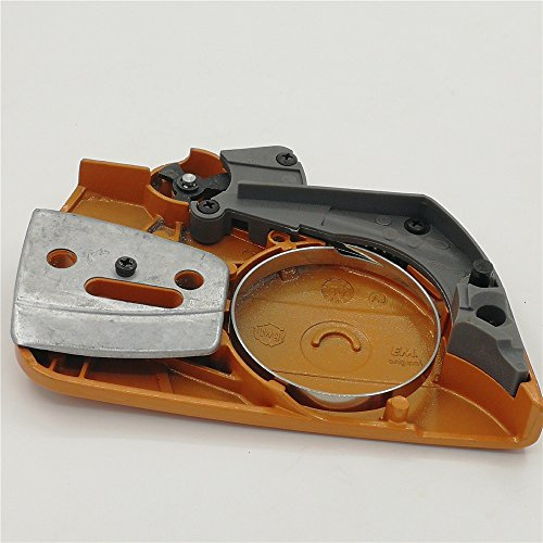 shiosheng Chain Sprocket Clutch Cover Fit Husqvarna Chainsaw 340 345 346 XP 350 351 353 357 359 537107801 Chain Brake Side Cover