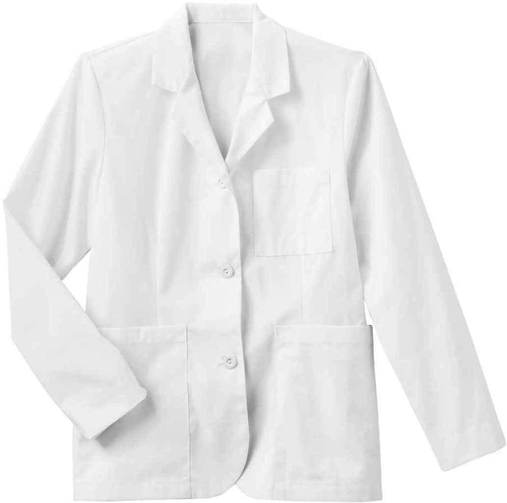 META Labwear Women's Consultation Lab Coat White