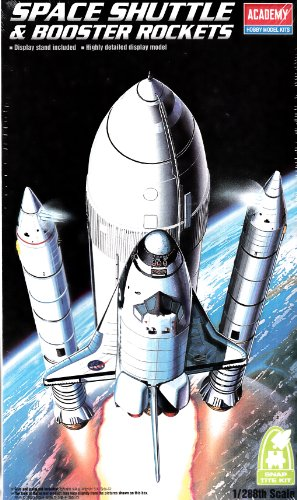 Space Boosters Shuttle (Academy Space Shuttle and Booster Rockets)