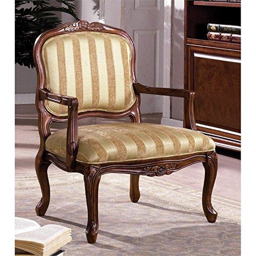 (Furniture of America Solimar Arm Chair, Antique Oak)