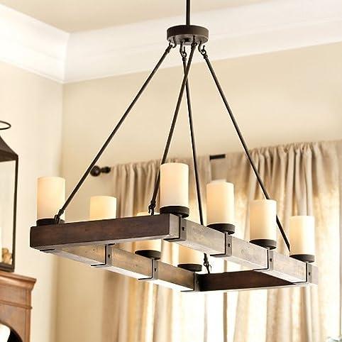Arturo 8 Light Rectangular Chandelier Ballard Designs Amazon Com