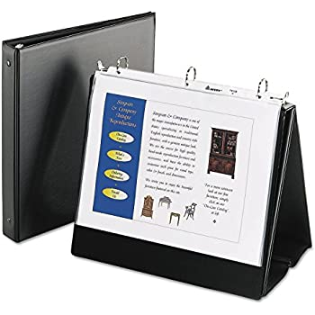 Amazon Com Avery Easel Presentation Binder With Round