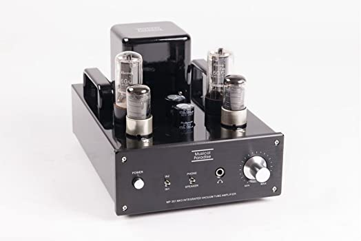 Musical Paradise MP-301 MK3 Mini Tube Amplifier with Headphone Output Deluxe Version