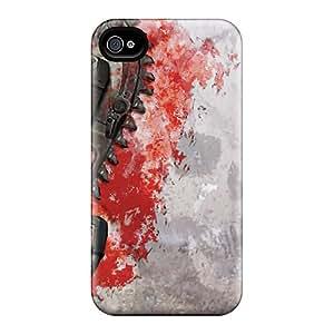 Iphone 4/4s KYm9997lgKr Provide Private Custom Lifelike Gears Of War 3 Image Scratch Protection Hard Phone Cases -DrawsBriscoe