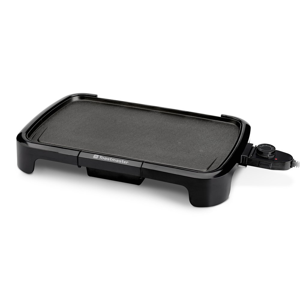Toastmaster TM-161GR Griddle, 10 x 16'', Black