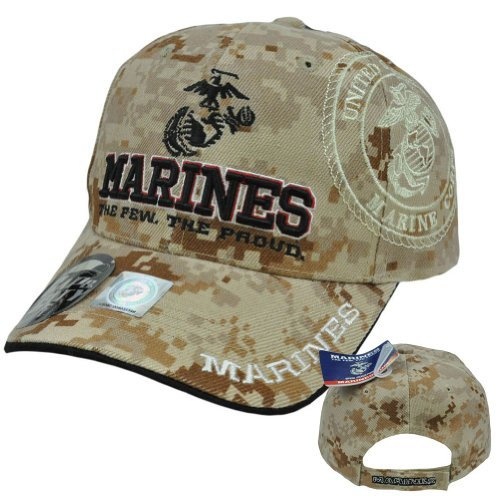 - US Marines Corps Few Proud Military USA Digital Camo Camouflage Licensed Hat Cap by U.S. Marines