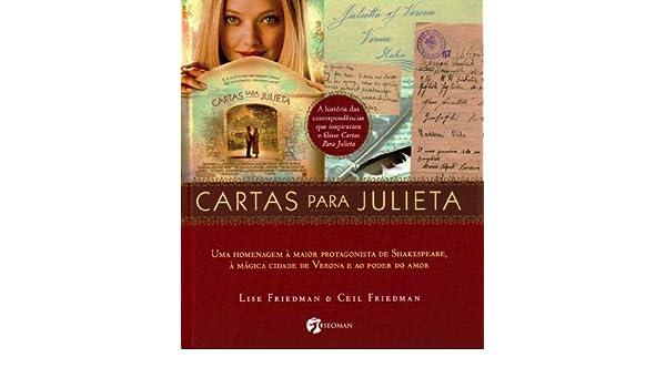 Cartas Para Julieta (Em Portuguese do Brasil): 9788598903217 ...
