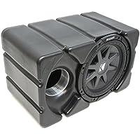 Kicker Cvr10 Loaded Marine Audio Boat Custom Fit 10 Inch Subwoofer Enclosure Box