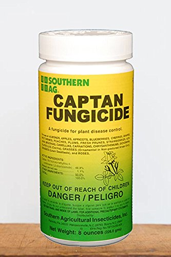 Southern Ag Captan 50% WP Fungicide, 8 Oz by Southern Ag