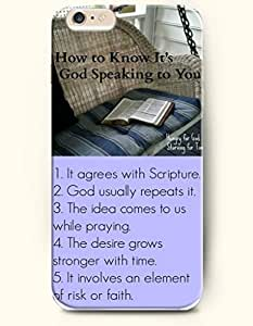 iPhone Case,OOFIT iPhone 4s Hard Case **NEW** Case with the Design of how to know it's god speaking to you hungry for god starving for time 1. it agrees with scripture2.god usually repeats it3.the idea comes to us while praying 4 the desire grows stronger with time 5 it incolves an element of risk or faith - Case for Apple iPhone iPhone 4s (2014) Verizon, AT&T Sprint, T-mobile