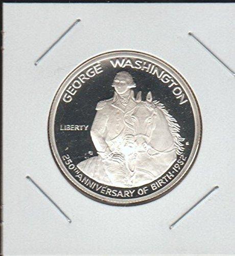 1982 S George Washington 250th Anniversary Commerative Half Dollar Proof DCAM US - 1982 Half Washington Dollar