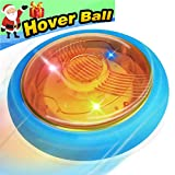 Hover Ball Soccer Toys for Kids Air Power Disc LED Lights Football Toy Game for Boys Girls Holiday Toys Hover Disk Ball with Foam Bumpers Child Teen Holiday Toy Christmas Birthday New Year Gifts