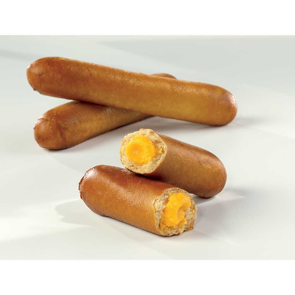 J and J Snack Super SoftStick Cheddar Cheese Filled Soft Pretzel, 26 gram -- 200 per case.