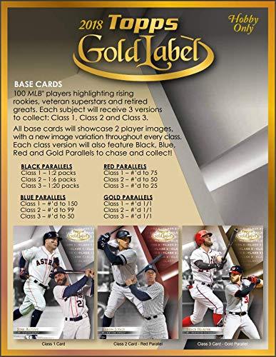 (2018 Topps Gold Label Baseball Hobby Box (Sealed))