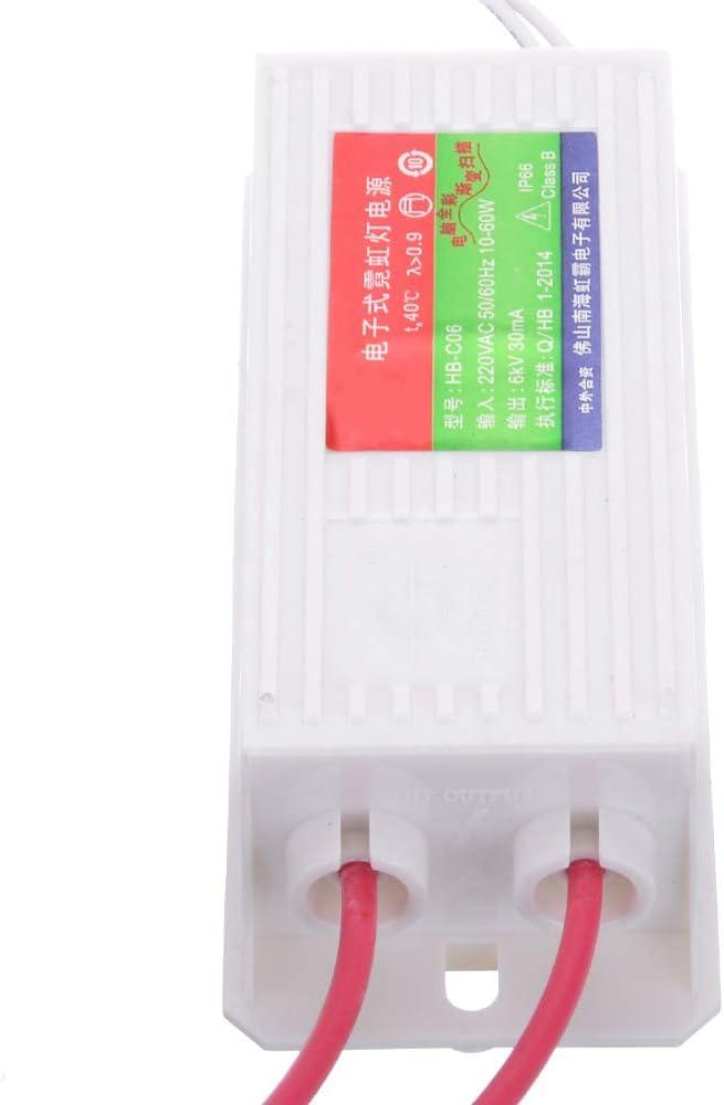 RETYLY 1Pc Hb-Co6 Transformateur /éLectronique au N/éOn Imperm/éAble Redresseur DAlimentation au N/éOn 6Kv 60W 30Ma