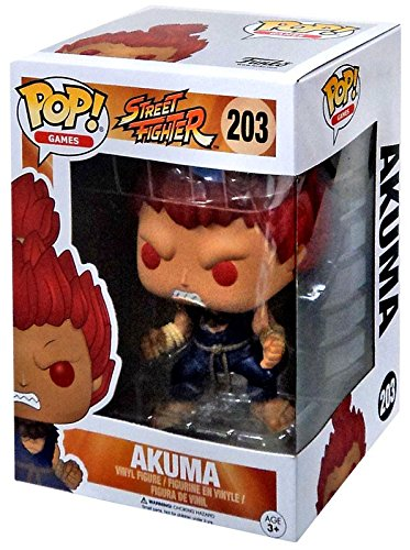 Funko Pop! Street Fighter - Akuma exclusive !!!