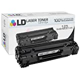 LD Compatible Toner Cartridge Replacement for Canon 125 (Black)