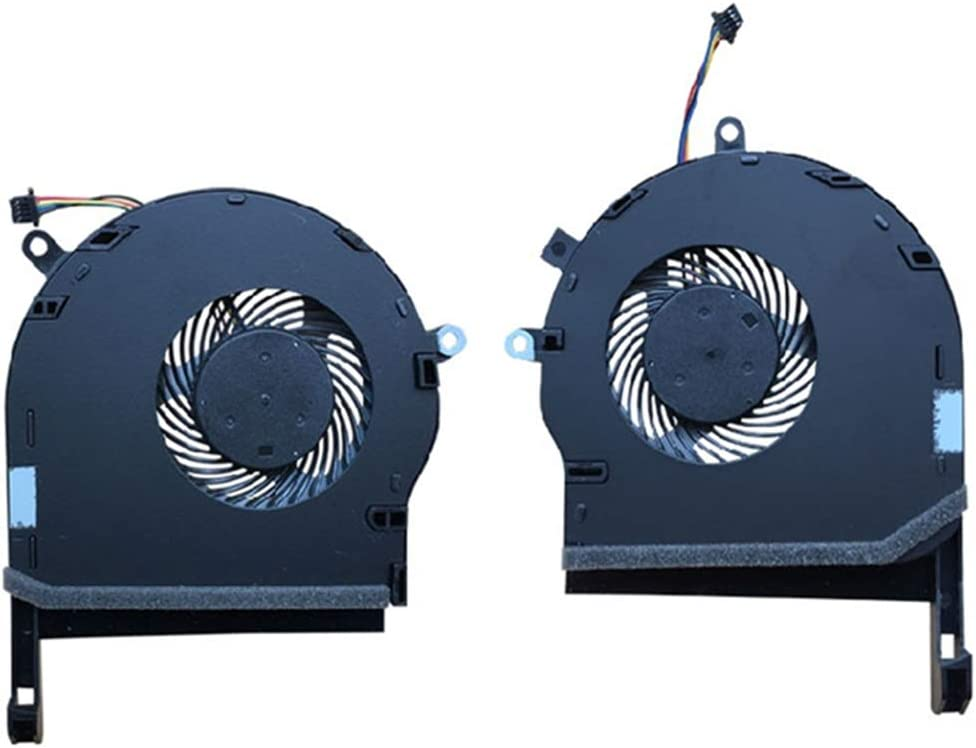 Replacement Compatible Laptop CPU Cooling Fan Cooler for Asus ROG TUF Gaming FX504 FX80 FX80G FX80GE ZX80GD FX8Q FX504GD FX504GE GTX1050 DC 5V 0.5A FCN FKPD EP fkpc Series DFS531005PL0T Dfs501105pr0t