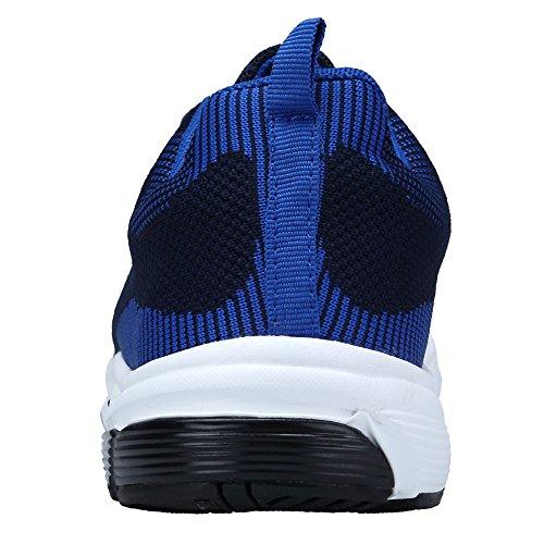 Zapatos y Zapatillas Libre Asfalto Azul Para para de Padel Correr En y Running XKMON Montaña Deportes Aire Mujer 57vqUWyw4