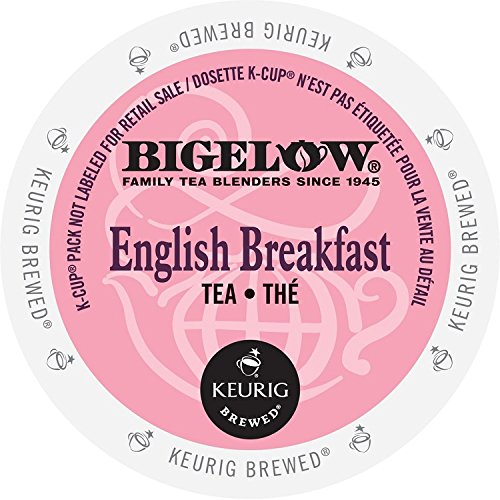 Bigelow K-Cup for Keurig Brewers, English Breakfast Tea , 24