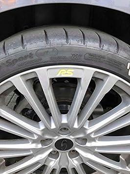 Jackplott Focus Rs Mk3 Gel Embleme Inlays Felgen Logos Gelb Auto