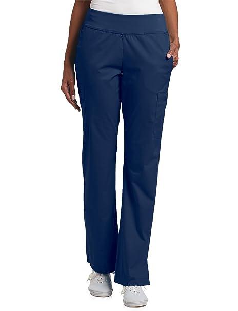 0c8568e78f6 White Cross Allure Women's Yoga Elastic Waistband Scrub Pant XX-Small Tall  Navy