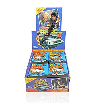 1989 Topps Back to the Future II Trading Card Box