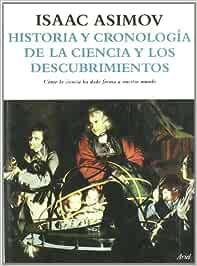 Historia y cronología de la ciencia y los descubrimientos