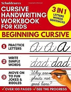 Cursive Handwriting Workbook for Kids: Jokes and Riddles: Exl