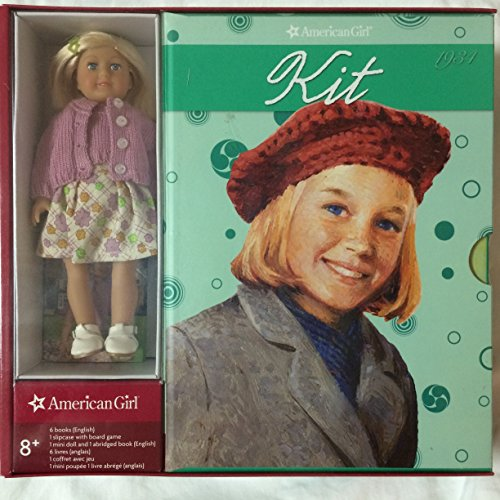 Kit's 6-book Set with Mini Doll and Board Game (American Girl)