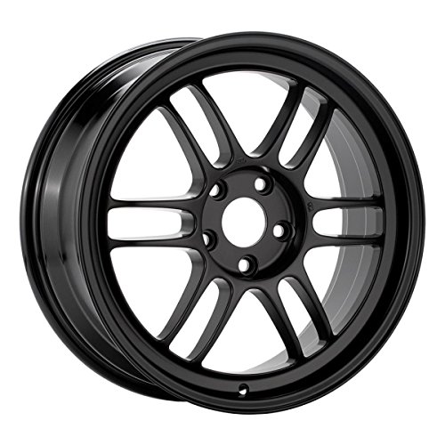 17x7 Enkei RPF1 (Black) Wheels/Rims 5x114.3 (Enkei Rpf1 Wheel)
