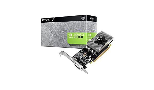 PNY VCGGT10302PB GeForce GT 1030 2GB GDDR5 - Tarjeta gráfica ...