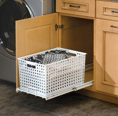 Rev-A-Shelf RSHURV.1512 S Polymer Pullout Hamper-Utility Basket