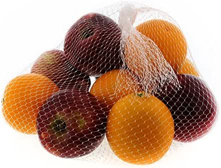 Royal Clear Plastic Mesh Produce and Seafood Bag, 24 Inch, Package of 100