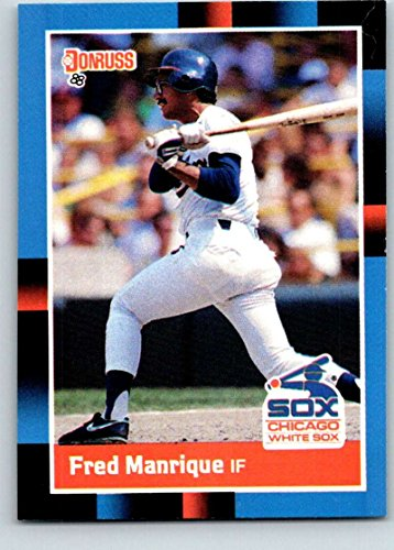 Baseball MLB 1988 Donruss #493 Fred Manrique NM-MT RC Rookie White Sox ()