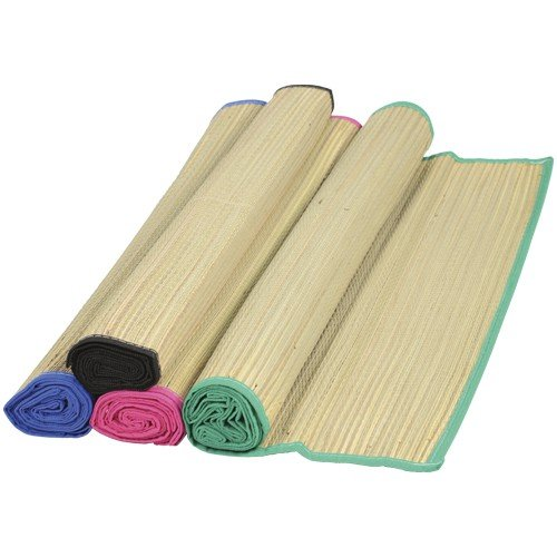 DollarItemDirect Straw Beach Mats, Sold by 12 -