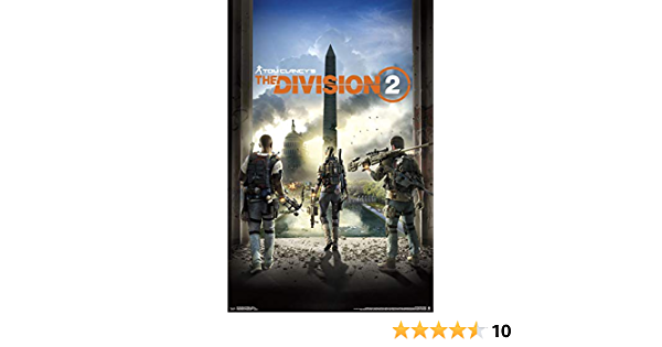 E216 Tom Clancy/'s The Division Gaming PosterSizes A4  to A0 UK Seller
