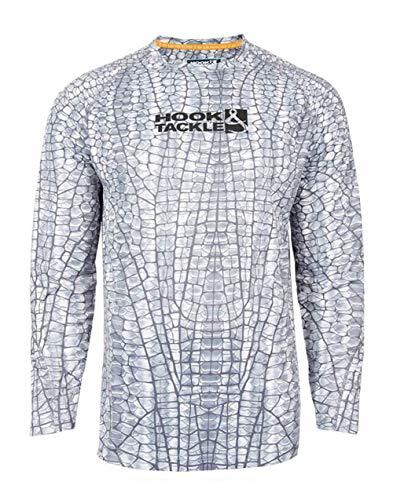 Tackle Tech - Hook & Tackle Hydraskin Longsleeve Tech T - Grey