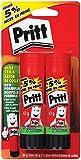 Pritt Glue Stick, 42g, 2 Pack (1680074)