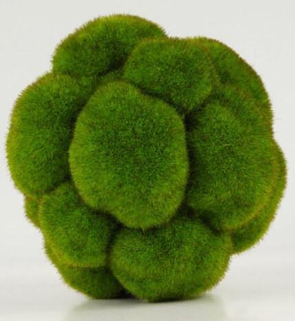 Richland Bumpy Moss Balls 5'' Set of 6