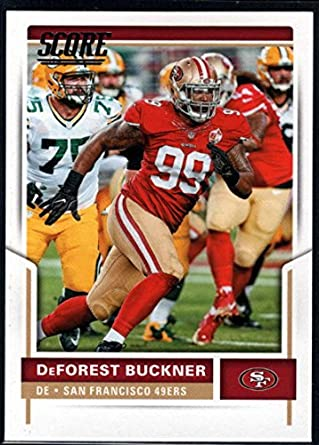 a56e5efabe3 Amazon.com  2017 Score  185 DeForest Buckner San Francisco 49ers ...