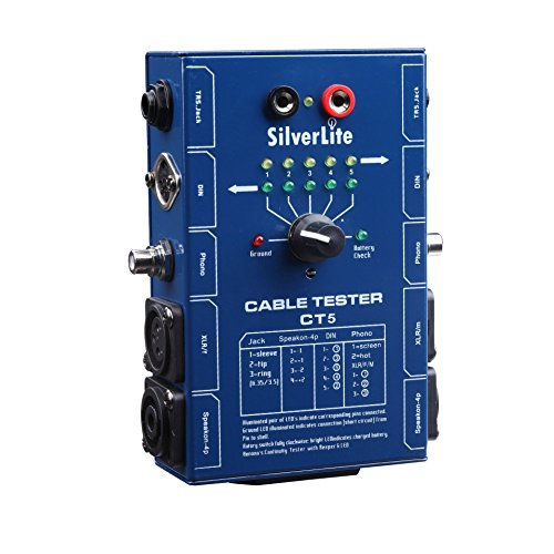 Silverlite 5 Plug Audio Cable Tester