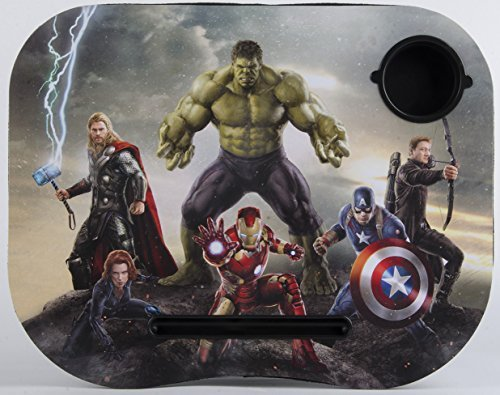 Marvel Avengers Age of Ultron Lap Desk Built in Cup Holder Official Licensed